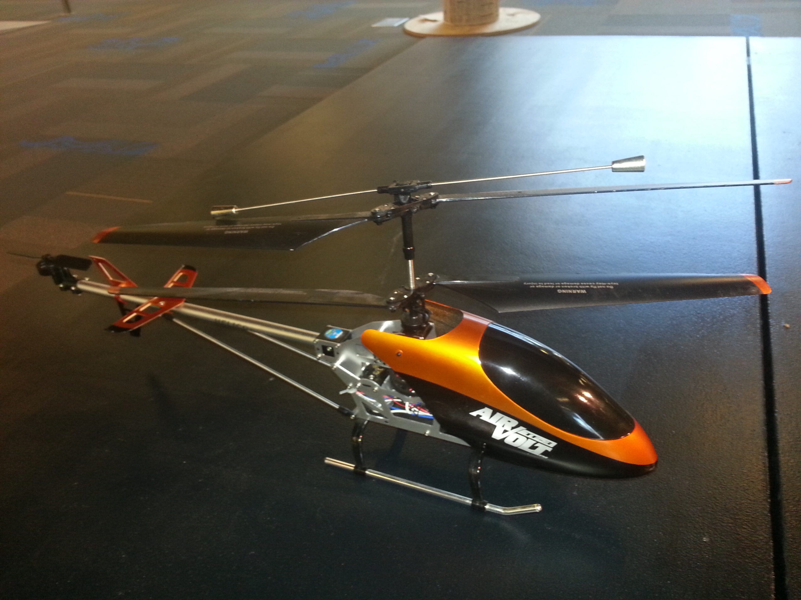 The original RC helicopter.
